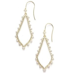 Kendra Scott Gold Bea Drop Earrings